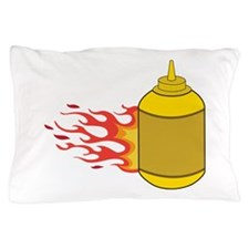 Mustard Bottle Pillow Case