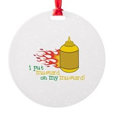 Mustard Ornament