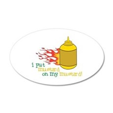 Mustard Wall Decal