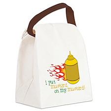 Mustard Canvas Lunch Bag
