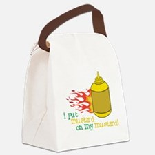 Mustard Canvas Lunch Bag