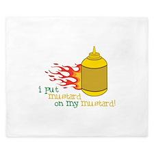 Mustard King Duvet