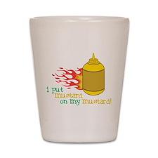 Mustard Shot Glass