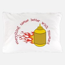 Better With Mustard Pillow Case