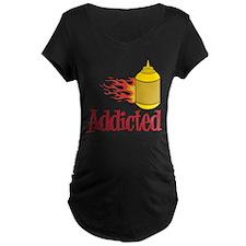 Addicted Maternity T-Shirt