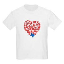 Texas Heart T-Shirt