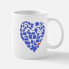 Texas Heart Mug