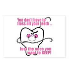Keep Flossing! Dentist Postcards (Package of 8)