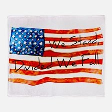 United We Stand Throw Blanket