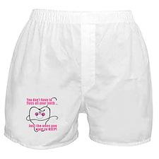 Keep Flossing! Dentist Boxer Shorts