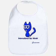 Minka Cat: Top Model Bib
