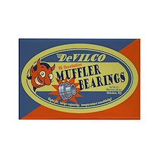DeVilco Muffler Bearings Rectangle Magnet