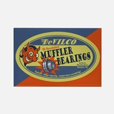 DeVilco Muffler Bearings Rectangle Magnet