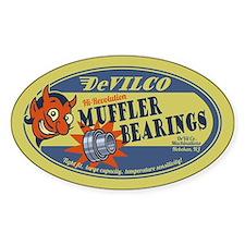 DeVilco Muffler Bearings Decal