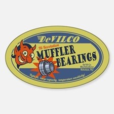 DeVilco Muffler Bearings Decal