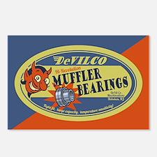 DeVilco Muffler Bearings Postcards (Package of 8)