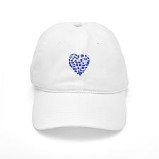 Virginia Heart Baseball Cap