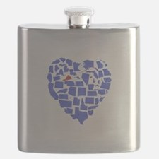 Virginia Heart Flask