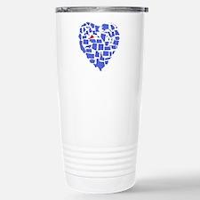 Virginia Heart Stainless Steel Travel Mug
