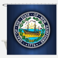 New Hampshire Seal Shower Curtain
