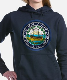 New Hampshire Seal Women's Hooded Sweatshirt