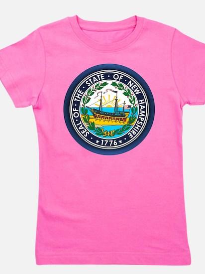 New Hampshire Seal Girl's Tee