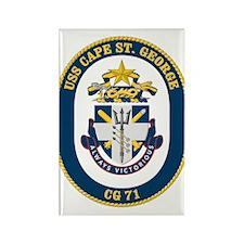 Uss Cape St. George Cg-71 Magnets