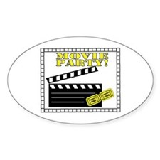 Movie Party! Decal