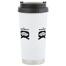 Unique Martial artist Travel Mug