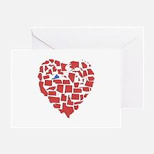 Virginia Heart Greeting Card