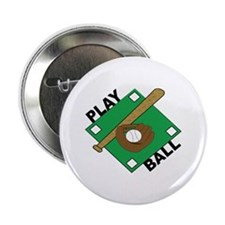 "Play Ball 2.25"" Button"