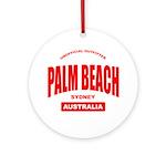 Palm Beach, Sydney Ornament (Round)