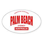 Palm Beach, Sydney Oval Sticker