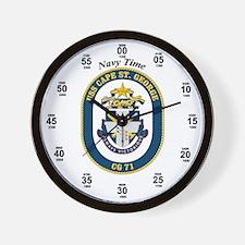 USS Cape St. George CG-71 Wall Clock
