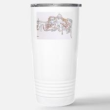 Celtic Ornament Animals Travel Mug