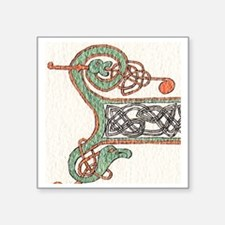 "Intricate Celt Square Sticker 3"" x 3"""