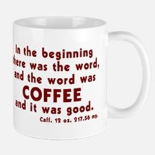 Coffee Word Mug