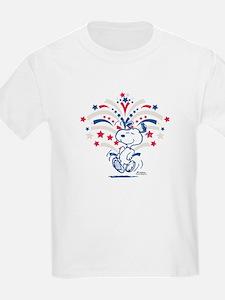 Snoopy Fireworks T-Shirt