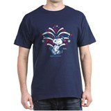 4th of july Dark T-Shirt