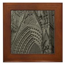 La Catedral Barcelona Framed Tile