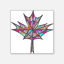 Maple Leaf Mosaic Sticker