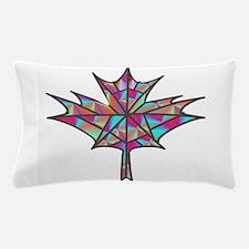 Maple Leaf Mosaic Pillow Case