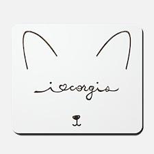 I Love Corgis - Mousepad