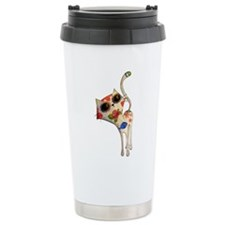 White Mexican Cat Travel Mug