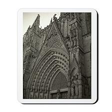 La Catedral Barcelona Mousepad