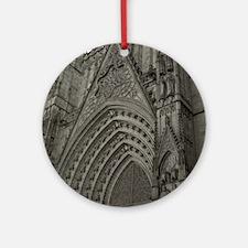 La Catedral Barcelona Ornament (Round)
