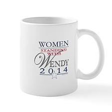 Women standing with Wendy Mug