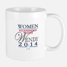 Women standing with Wendy Mug