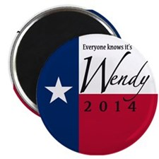 It's Wendy in Texas Magnet