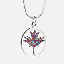 Maple Leaf Mosaic Necklaces